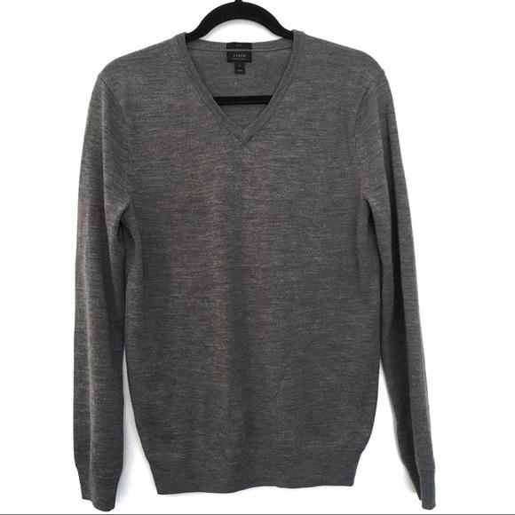 J. Crew Other - [J.CREW] Merino Wool Slim V Neck Sweater Size S